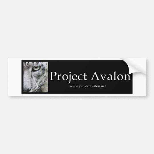 Project Avalon (Bumper Stickers) Bumper Sticker