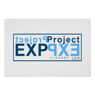 Project EXP (blue) Poster