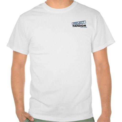 Project Fandom logo Tee Shirts