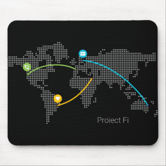 Project Fi Mousepad