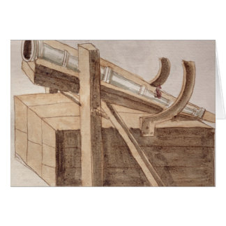 Project for a cannon greeting card