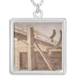 Project for a cannon square pendant necklace
