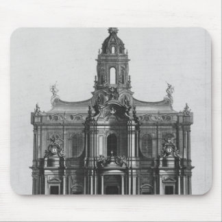 Project for the church of Saint-Sulpice Mouse Mat