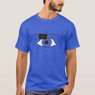 Project Glass | Google Glass - Blue Universe T-Shirt
