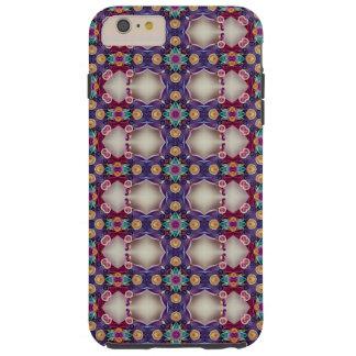 Project Kaleidoscope Art Indigo Magenta Berry Tough iPhone 6 Plus Case