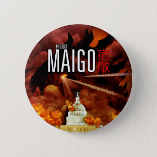 Project Maigo - The Button! 6 Cm Round Badge