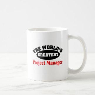 Project Manager Basic White Mug