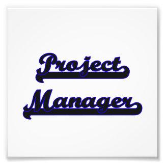 Project Manager Classic Job Design Photo Print