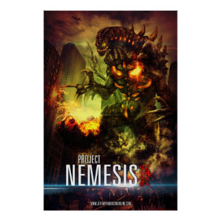 Project Nemesis Poster by Cheung Chung Tat
