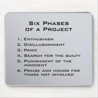 Project Phases Mouse Mat