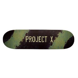 Project X - Graffiti Skateboard