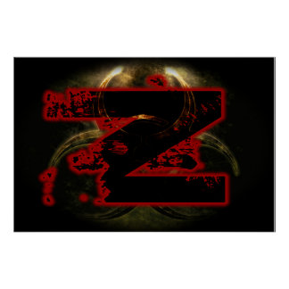 Project Z - Red Z Poster