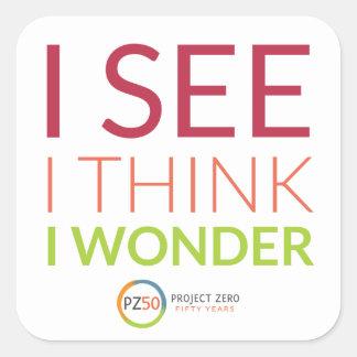 Project Zero 50 Sticker