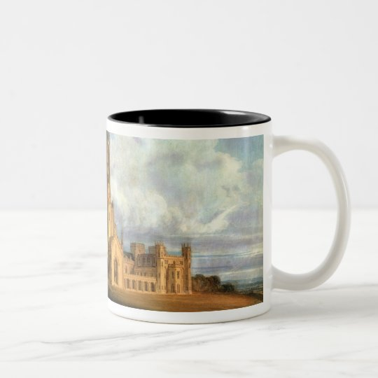 Projected Design for Fonthill Abbey, Wiltshire, 17 Two-Tone Coffee Mug