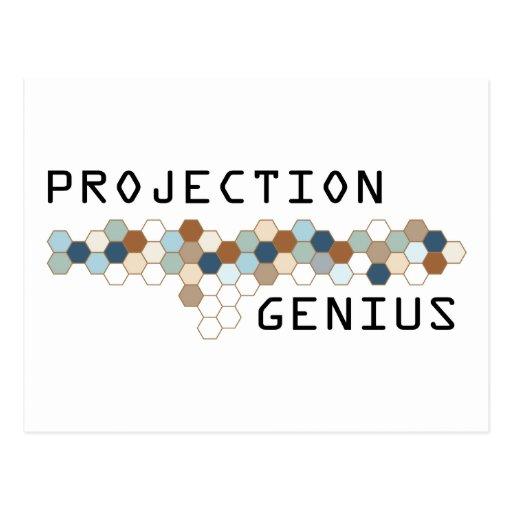 Projection Genius Postcard
