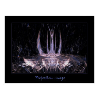 Projection Image Poster