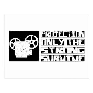 Projection Survive Postcard