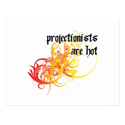 Projectionists Are Hot Post Card