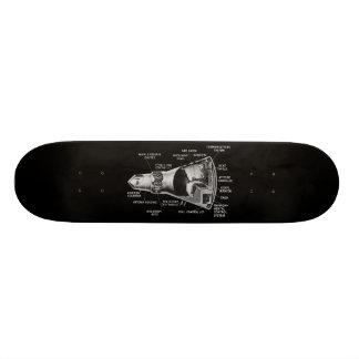 Projecy Mercury Cutaway 20.6 Cm Skateboard Deck