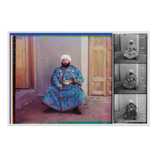 Prokudin-Gorskii , Alim Khan, Emir of Bukhara Poster