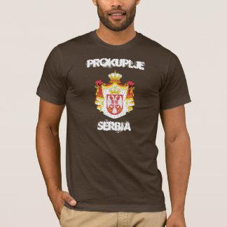 Prokuplje, Serbia with coat of arms T-Shirt