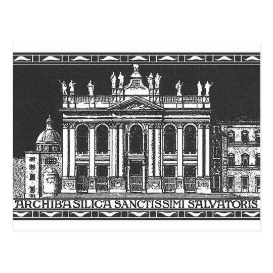 ProLateranus Cartus Postcard