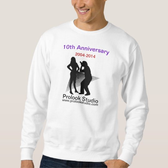PROLOOK STUDIO 10th Anniversary sweatshirt