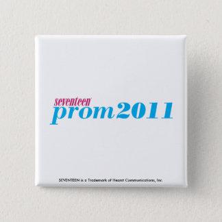 Prom 2011 - Aqua 15 Cm Square Badge