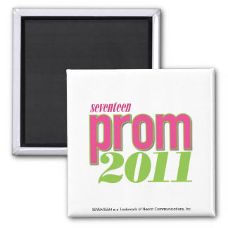 Prom 2011 - Green Square Magnet