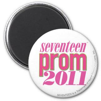 Prom 2011 - Lt. Pink 6 Cm Round Magnet