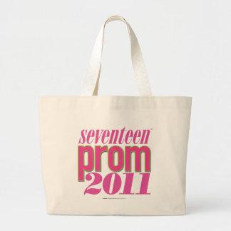 Prom 2011 - Lt. Pink Large Tote Bag