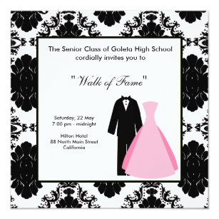 Prom night cards invitations zazzle prom night card stopboris Choice Image