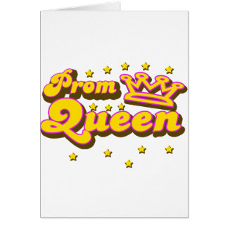Prom Queen Card
