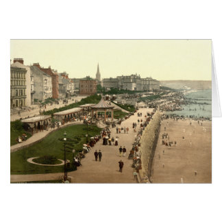 Promenade, Bridlington, Yorkshire, England Card