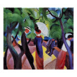 Promenade by August Macke Poster