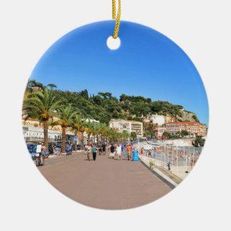 Promenade des Anglais Christmas Ornament