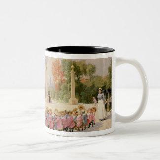 Promenade des Enfants Coffee Mugs