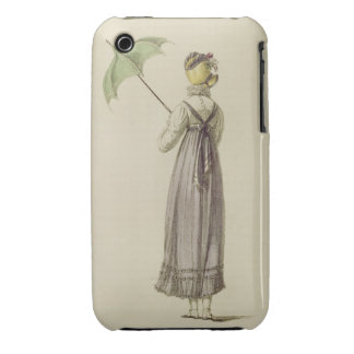 Promenade dress, fashion plate from Ackermann's Re iPhone 3 Case