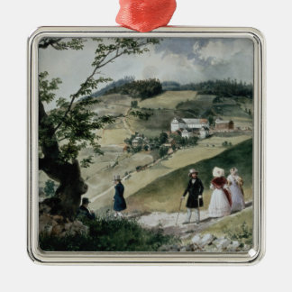 Promenade in Tabon Christmas Ornament