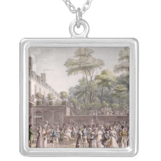 Promenade in the Turkish Garden Silver Plated Necklace