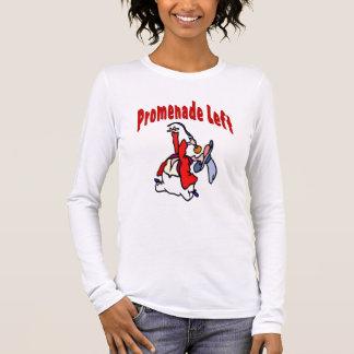 Promenade Left  Square Dance Long Sleeve T-Shirt