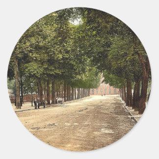 Promenade looking towards Queen's Hotel, Cheltenha Sticker