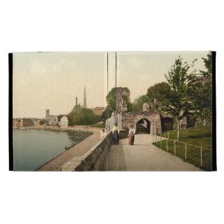 Promenade, Worcester, England iPad Case
