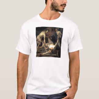 Prometheus Being Chained, by Dirck van Baburen T-Shirt