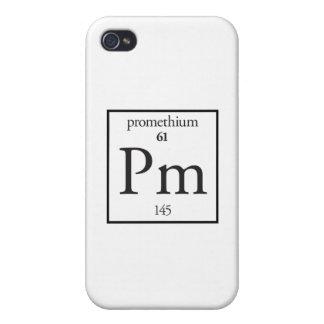 Promethium iPhone 4/4S Cover