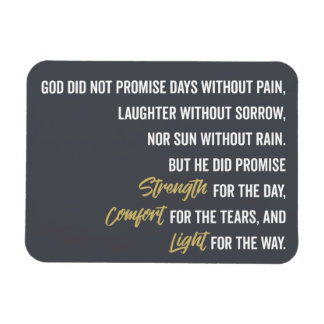 Promise of Strength Comfort and Light Magnet