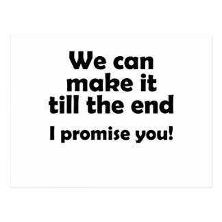 promise postcard