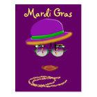 Promo Postcard Mardi Gras Party New Orleans LA