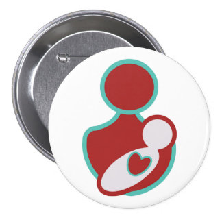 Promote Safe Labor and Delivery 7.5 Cm Round Badge