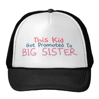 Promoted To Big Sister Cap